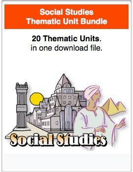 A Bundle - Social Studies Thematic Units