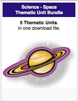 A Bundle - Science - Space Thematic Units