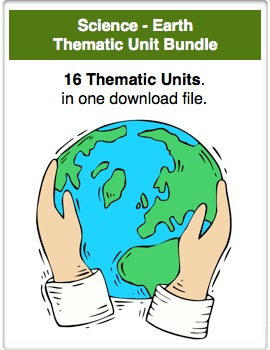 A Bundle - Science - The Earth Thematic Units