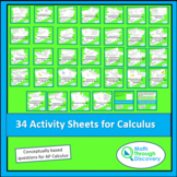 32 Activity Sheets for Calculus