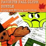 A Bundle of 4 Fall Glyphs~Math & Writing Activities & Printables