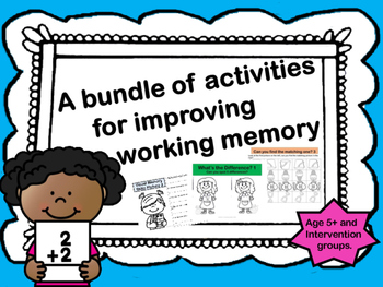 A Bundle of Activities to improve Working Memory