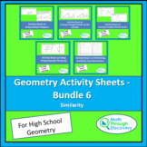 Geometry - A Bundle of Activity Sheets on Similarity