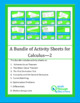 A Bundle of Activity Sheets for Calculus - 2
