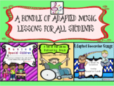 A Bundle of Adapted Music Lessons
