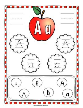 A Bundle of Alphabet and Number Foldables With Interactive Posters