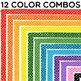 Clip Art: A Bundle of Borders! 72 Colorful Borders