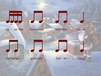 Christmas Music: A Bundle of  PowerPoints, PDFs & Activities