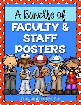 A Bundle of Faculty and Staff Posters: SITE-WIDE LICENSE