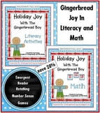 A Bundle of Holiday Joy with the Gingerbread Boy... litera