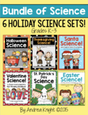 Holiday Science Units (A Bundle of 6 Sets from Halloween t