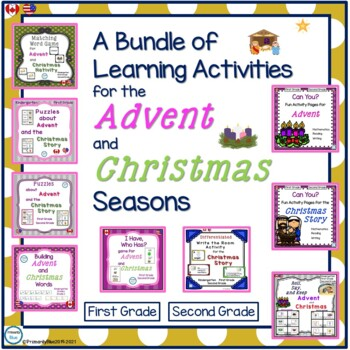 A Bundle of Learning Activities for the Advent and Christmas Seasons