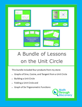 A Bundle of Lessons on the Unit Circle