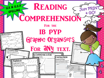A Growing Bundle of Reading Graphic Organizers for IB PYP