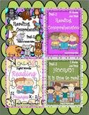 Reading Comprehension Passages and Questions   K - 2  Bundle!