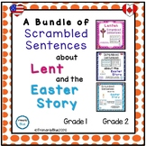 A Bundle of Scrambled Sentences about Lent and the Easter Story