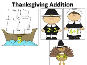 A Bundle of Thanksgiving Literacy and Math Centers Hands On Activities