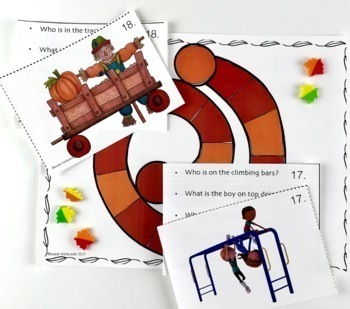 A Wh-Questions Bundle of Resources for Speech Language Therapy