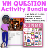 A Wh-Questions Bundle for Speech Language Therapy