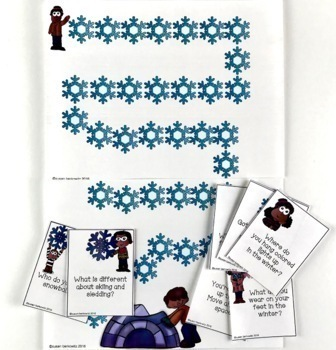 A Wh-Questions Activity Bundle for Speech Language Therapy
