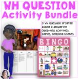 A Wh-Questions Activity Bundle for Speech