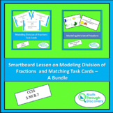 Smartboard Lesson on Modeling Division of Fractions and Ta