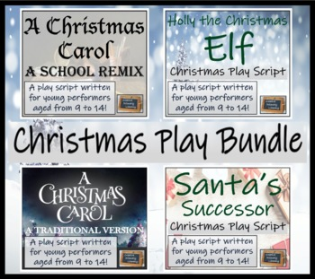 Christmas Play Scripts For Primary School.A Bundle Of Four Christmas Play Scripts