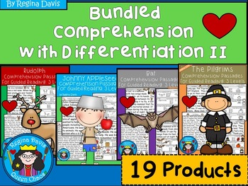 A+ Bundled Comprehension Passages...Guided Reading 2: Differentiated Instruction