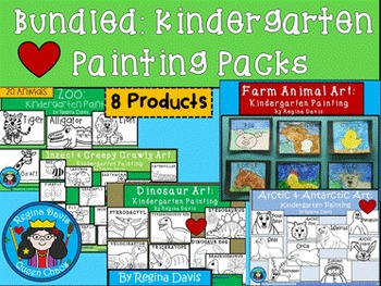 A+ Bundled Kindergarten Painting