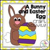 Easter Bunny Craft {A Bunny and Easter Egg}