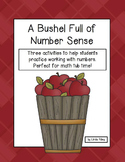 A Bushel Full of Number Sense: Working with Numbers Activities