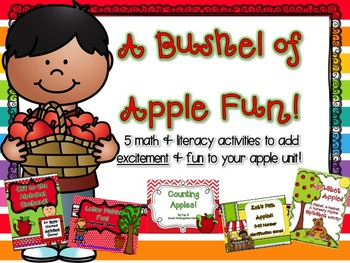 A Bushel of Apple Fun! Apple-Themed Math and Literacy Unit