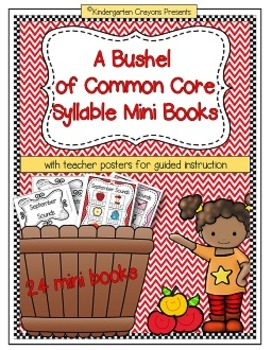 A Bushel of Common Core Syllable Mini Books