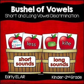 A Bushel of Short and Long Vowel Apple Activities