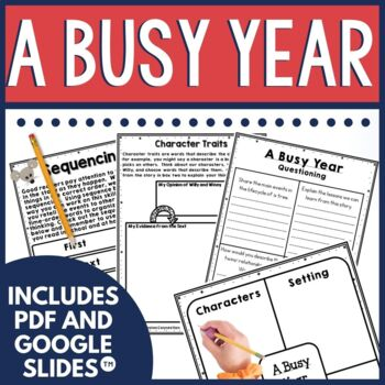 A Busy Year Book Companion