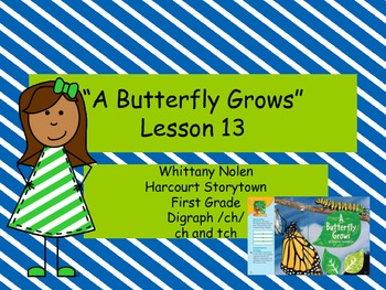 A Butterfly Grows: Storytown Lesson 13
