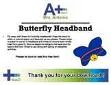 A+ Butterfly Headband