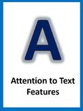 A.C.C.E.L.E.R.A.T.E Reading Posters-Blue