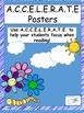 A.C.C.E.L.E.R.A.T.E Reading Posters-Bubbles