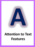 A.C.C.E.L.E.R.A.T.E Reading Posters-Purple