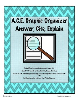 A.C.E. Graphic Organizer and Writing Reflection