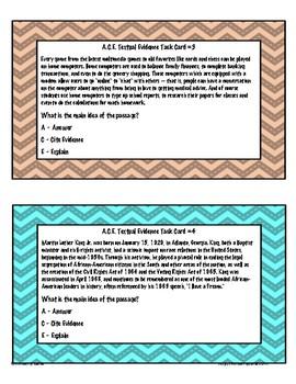 A.C.E. Task Cards