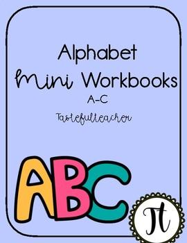 A-C Letter Flip Book
