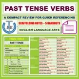 PAST TENSE - VERB FORMS: HANDOUT