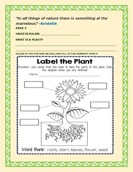 A CHILD'S BOOK OF BOTANY: MG, GRADES 3-7