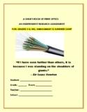 A CHILD'S BOOK OF FIBER OPTICS:  GRS. 3-6, MG, ENRICHMENT
