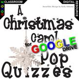 A CHRISTMAS CAROL 5 Pop Quizzes (Created for Digital)