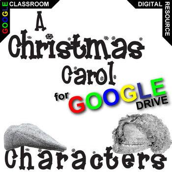 A CHRISTMAS CAROL Characters Organizer (Created for Digital)