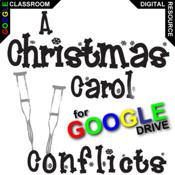 A CHRISTMAS CAROL Conflict Graphic Organizer (Created for Digital)