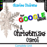 A CHRISTMAS CAROL Digital Unit Plan Novel Study - Literatu